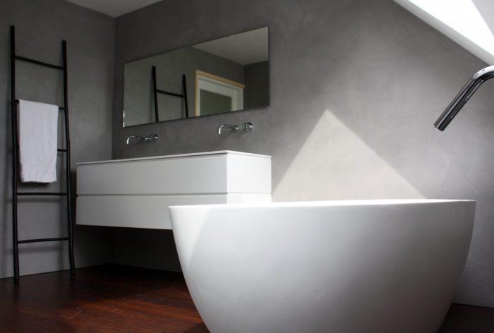 Stucwerk Badkamer Knauf : Luxe badkamer stuc waterdicht badkamermeubels ontwerpen 2017